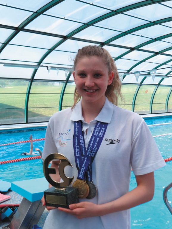 British Swimming recognition thrills top prospect Tazmin ...