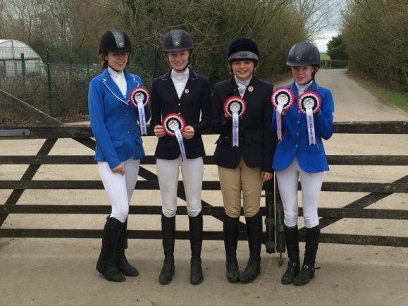 Pershore Showjumpers Book Places At Prestigious Events
