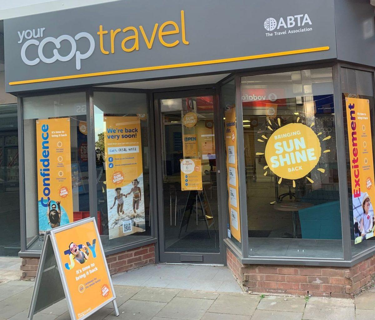 New look for town travel agents  The Evesham Observer
